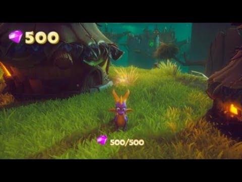 Spyro Reignited Trilogy Tree Tops Hidden Area