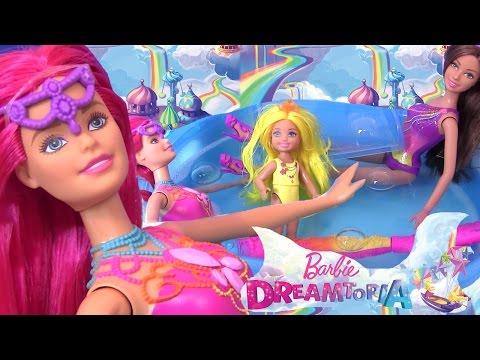 Barbie Pool Party Барби Мультики Barbie Dreamtopia Видео для Детей Mermaid Барби Русалка