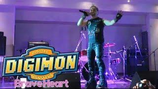 Repeat youtube video Cesar Franco - Brave Heart 'Corazon Valiente' (Digimon Adventure) Arequipa 2016