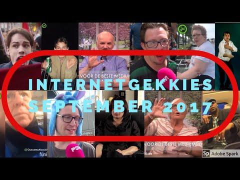 De Internetgekkies van de maand September 2017