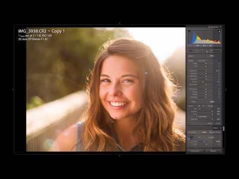 Lightroom Tutorial: Backlit Portrait Editing