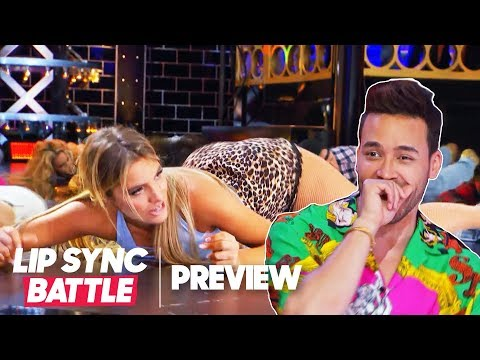 Lip Sync Battle first look: Watch Lele Pons stun Prince Royce with a twerktastic 'Gasolina'