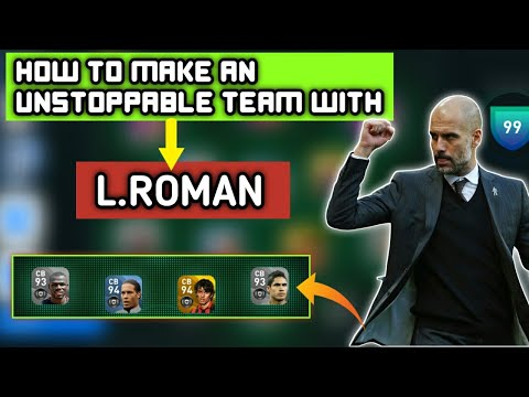 HOW TO MAKE AN UNSTOPPABLE TEAM WITH L. ROMAN IN PES 20 | IMPORTANT TIPS AND TACTICS |
