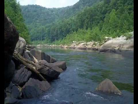 Trout fishing at cheat river rowlesburg wv short clip for Trout fishing in wv