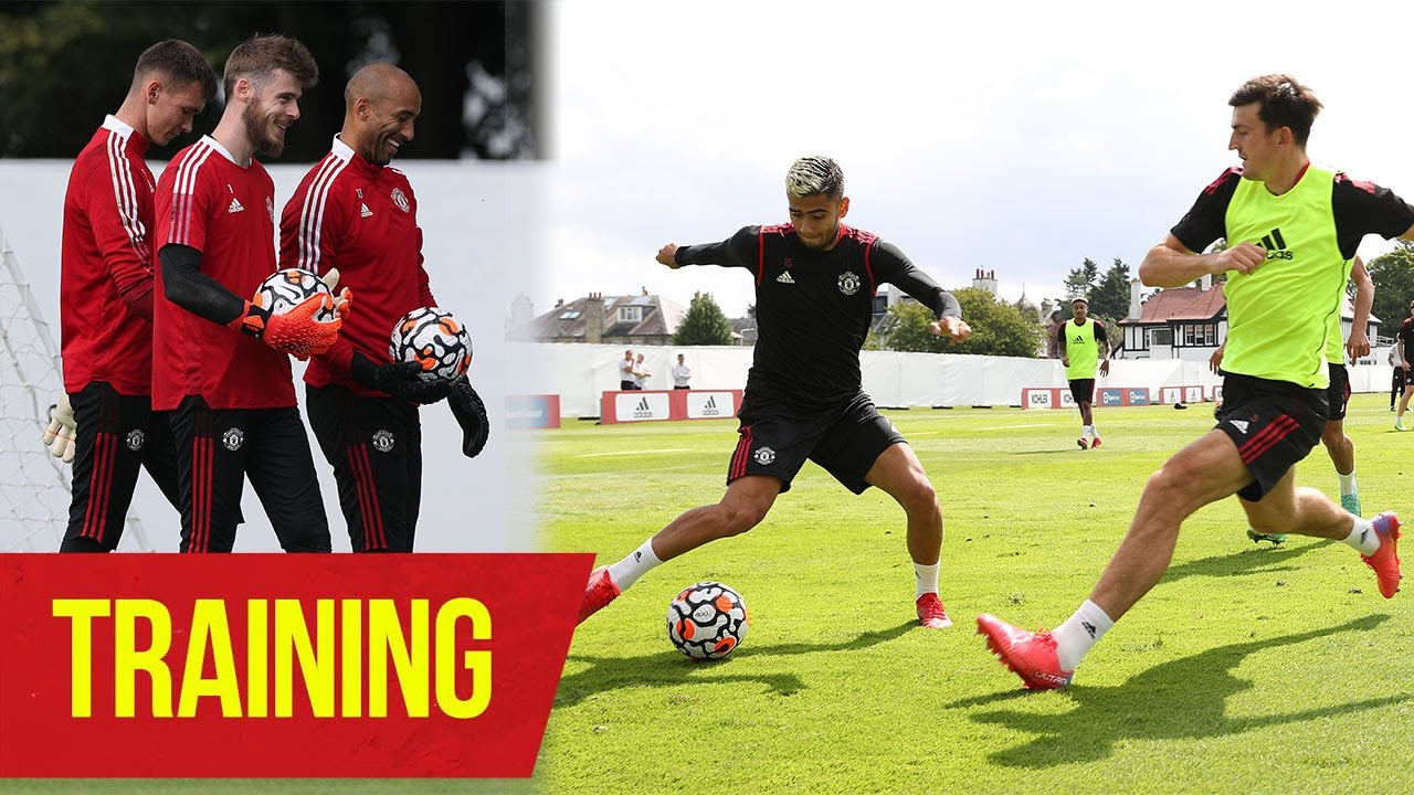 Manchester United | Pre-Season Training | Shaw, Lingard, Martial, Pereira.