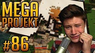 MEIN HAUS WURDE ZERSTÖRT, DAS GIBT RACHE!! - Minecraft Mega Projekt #86 (Dner)
