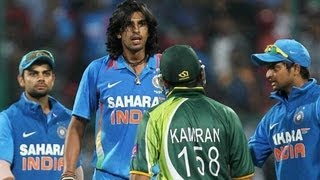 Ishant Sharma-Kamran Akmal's altercation raises the temperatures