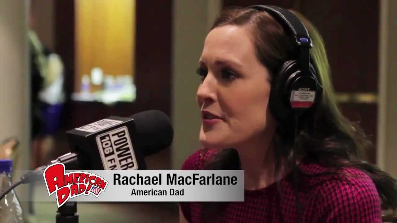 rachael macfarlane of american dad talks growing up with brother