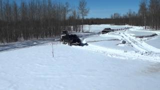 Lifted Dodge 35s VS Modded Diesel VS Deep Snow