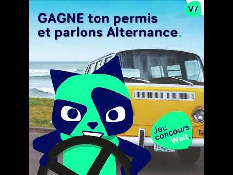 JEU CONCOURS - Gagne ton permis avec Walt