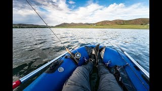 Saved by the Bass! Fishing from the Watermaster Kodiak