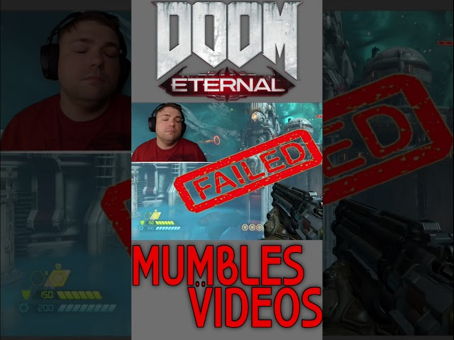 #Shorts Jumping in Doom Eternal Is Hard || Funny Gameplay Clip
