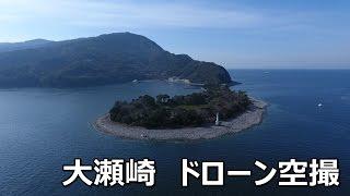 静岡県沼津市  大瀬崎  ドローン空撮  2017.3.5