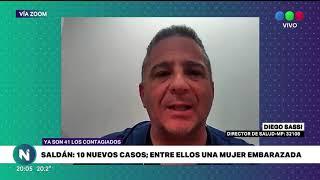 SALDÁN SUMÓ 10 NUEVOS CASOS Y YA SON 41 LOS CONTAGIADOS DE CORONAVIRUS