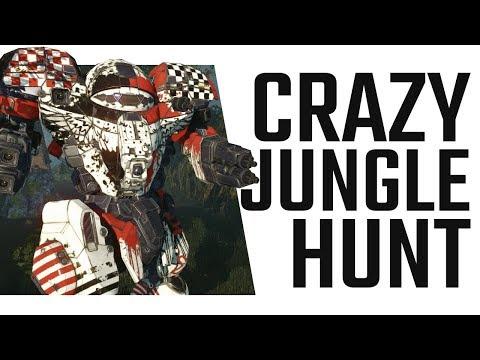 Crazy Jungle Hunt - Night Gyr Dakka/Vomit Build - Mechwarrior Online The Daily Dose #435