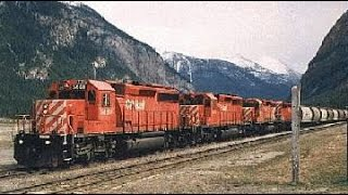 CP Vignettes #2 Canmore To Golden 9 May 1993
