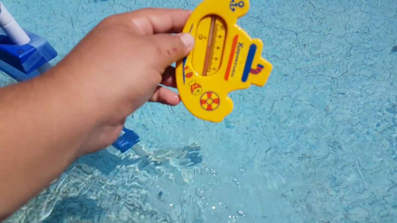 Как сделать воду прозрачной в каркасном бассейне