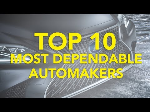 Top 10 Most Dependable Automakers: 2018 | Who Makes the Least Problematic Cars?