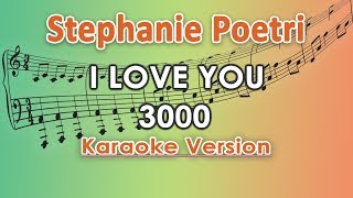 Gambar cover Stephanie Poetri - I Love You 3000 (Karaoke Lirik Tanpa Vokal) by regis