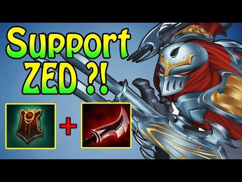 ZED SUPPORT, wie Pyke ein AD Assassine Support ?!