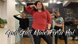 "KGF: Gali Gali Video Song Choreography | Neha Kakkar | Mouni Roy | ""Yash  |"