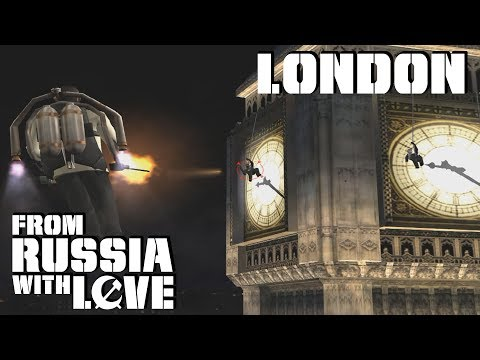 007: From Russia With Love GCN  London  00 Agent
