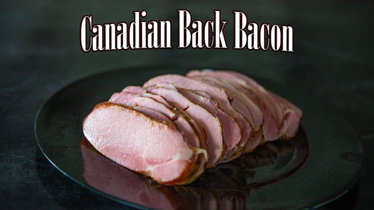 Homemade Canadian Back Bacon - YouTube