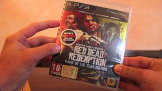 Red Dead Redemption GOTY Ed. [Unboxing HD] - TecnoGamer