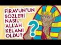 Edip Yüksel: Firavun'un Sözü Nasıl Allah Kelamı Haline Geliyor ?