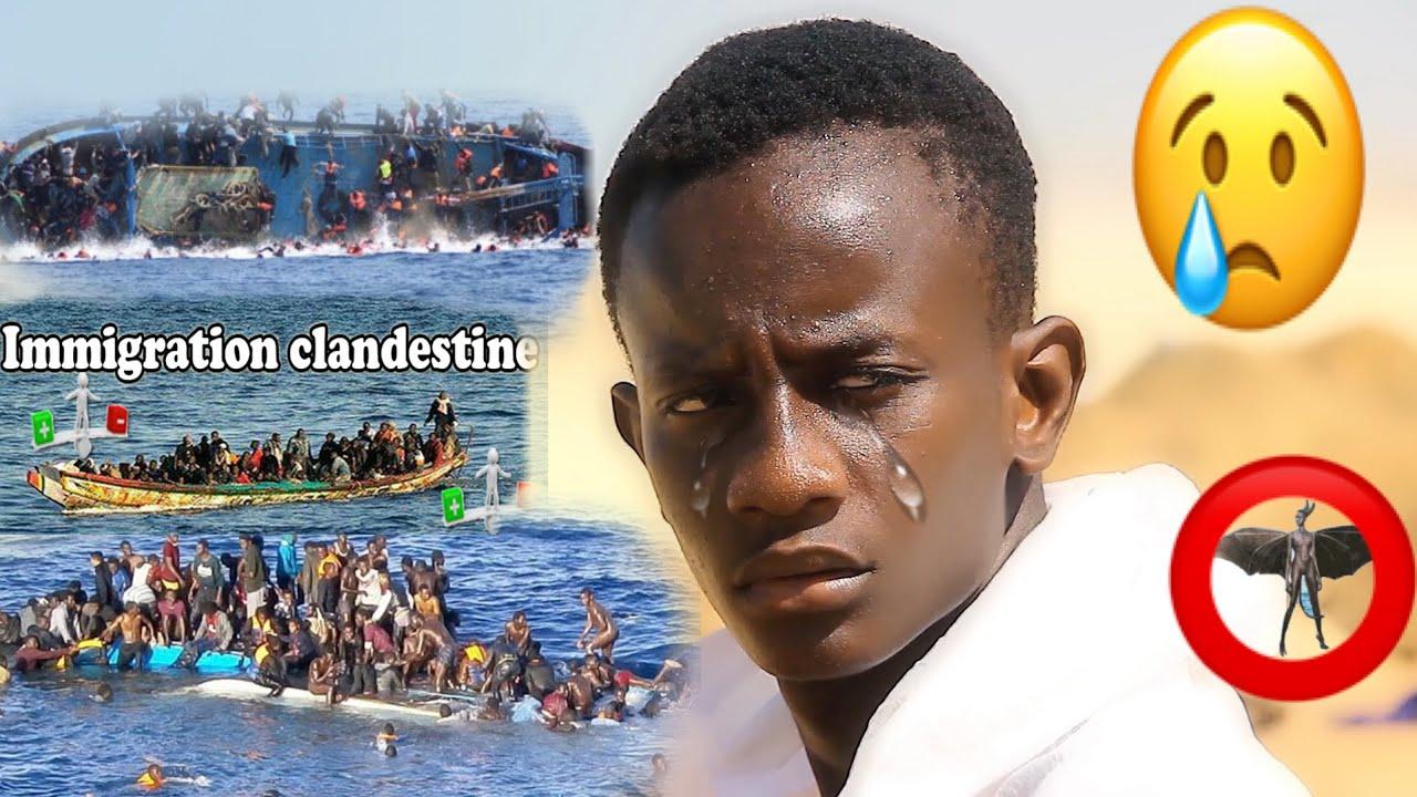 Barça walla barsakh,Immigration clandestine triste histoire ( impossible de ne pas pleurer )