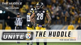 Steelers Nation Unite Weekly Huddle with S Sean Davis