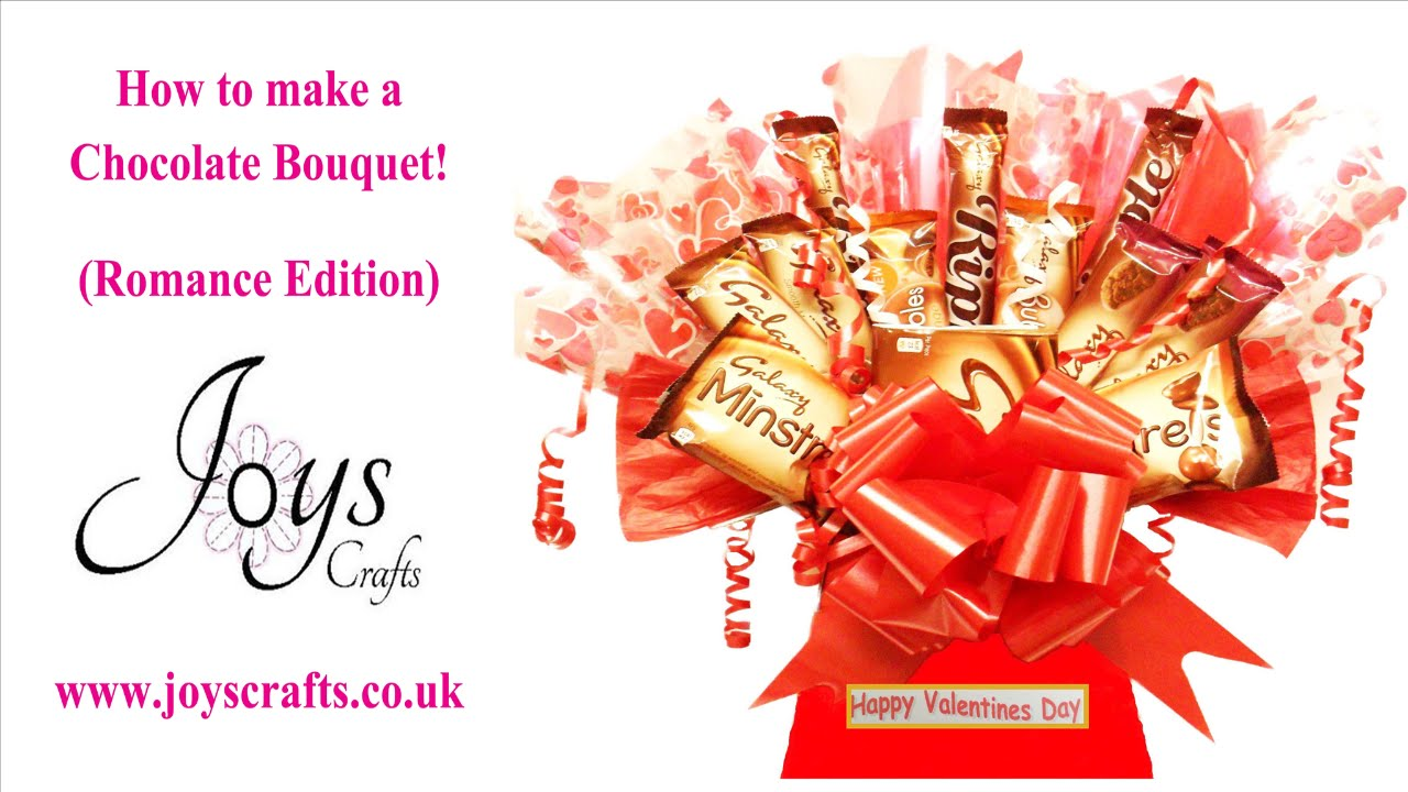 How To Make A Sweet/candy Chocolate Bouquet! (Romance