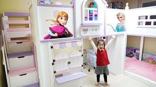 Decorating Kids Room with Frozen and Pororo Stickers