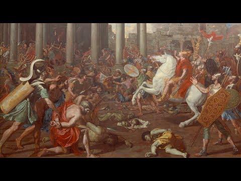 100 Meisterwerke - Eroberung Jerusalems durch Kaiser Titus - Nicolas Poussin