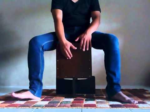 Adera - lebih indah (playing cajon)