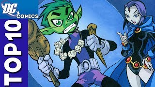 Top 10 Beast Boy and Raven Moments From Teen Titans #1