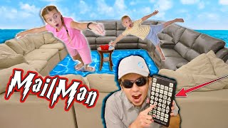 The Mailman Tricks Savannah And Az With Magic Water Remote!