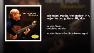 "Telemann: Partita ""Polonaise"" in A major for two guitars - Rigidon"
