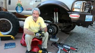 Turtle Expedition Testimonial Video of the Rancho RS9000XL shock
