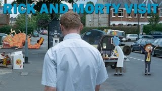 Rick and Morty visit:  Shaun of the Dead