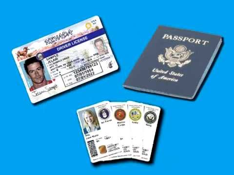Real Youtube First Or License Nevada Get Your - Card A Driver's Id