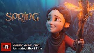 Cute Adventure Fantasy CGI 3d Animated Short Film ** SPRING ** by Blender Foundation