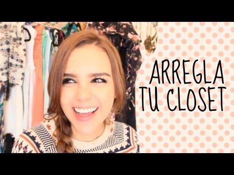 ARREGLA TU CLOSET ♥ (GANCHOS) DIY  -Yuya