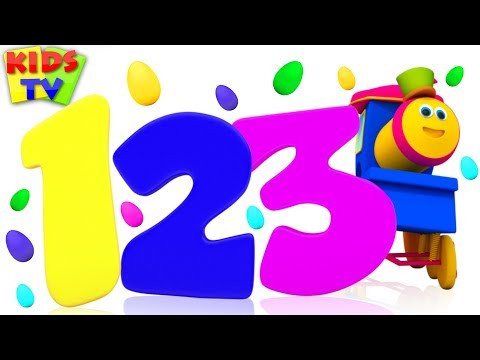 Learn Numbers and Colors with Surprise Eggs | Bob Fun Series for Kids