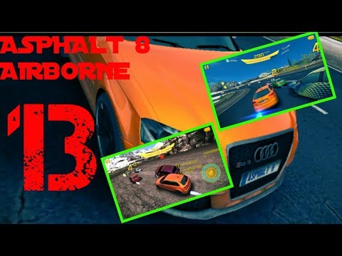 Asphalt 8 Airborne Iceland Reverse Season 1 Audi Car Race  Walkthrough  *  HD Game Play - Part 13