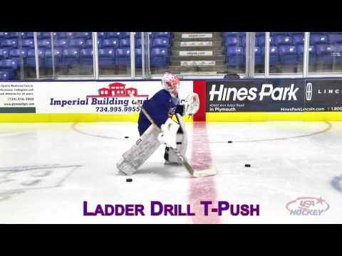 Goaltender Skill of the Month: Ladder Drill