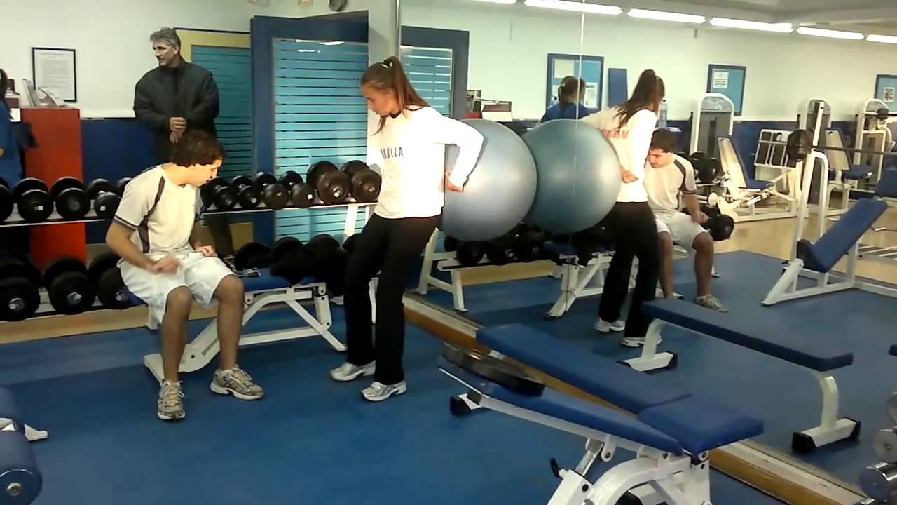 Circuito Gimnasio : Preparación física en gimnasio circuito de entrenamiento