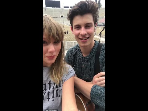 Shawn Mendes and Taylor Swift sing
