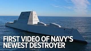 First video of the US Navy