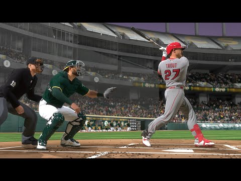 MLB Today 5/22 - Los Angeles Angels Vs Oakland Athletics  Full Game Highlights (MLB The Show 20)